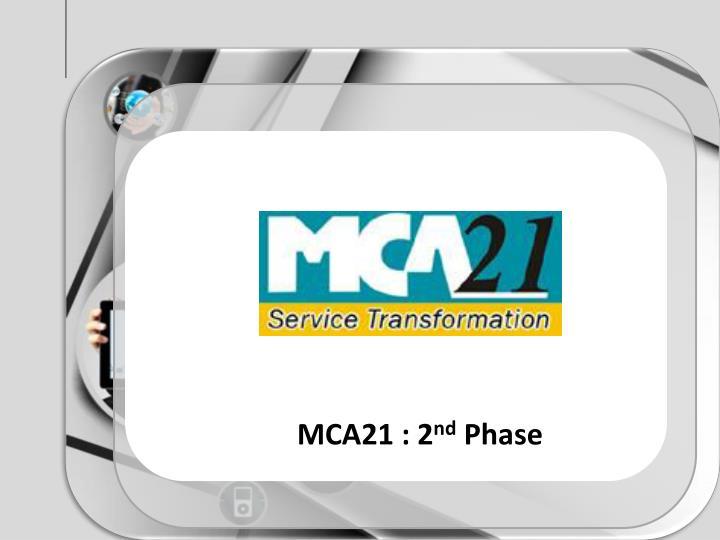 MCA21 : 2