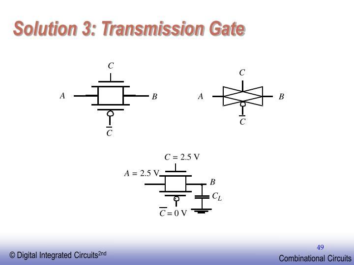 Solution 3: Transmission Gate