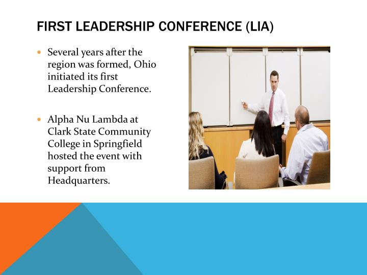 First Leadership Conference (LIA)