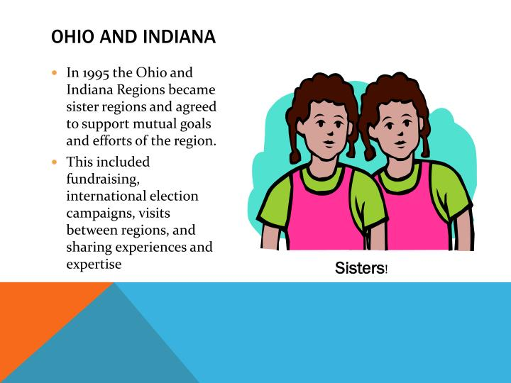 Ohio and Indiana