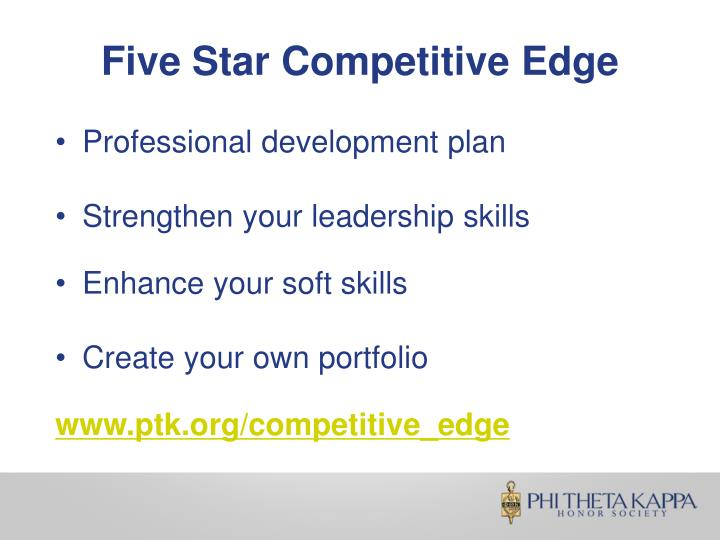 Five Star Competitive Edge