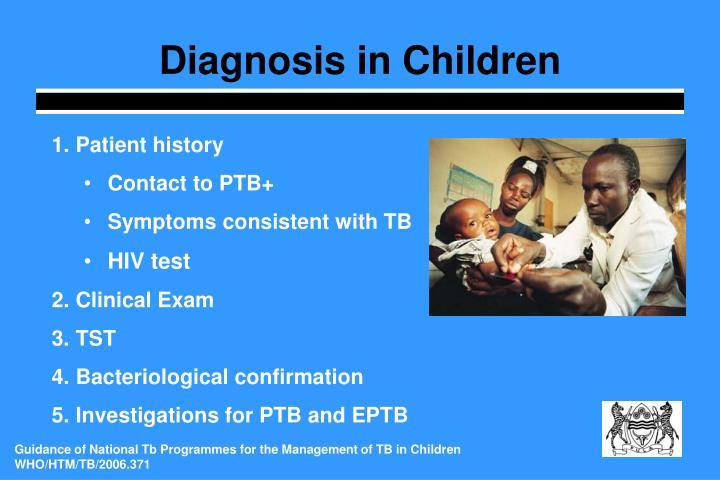 Diagnosis in Children