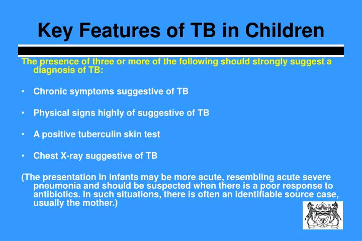 Key Features of TB in Children