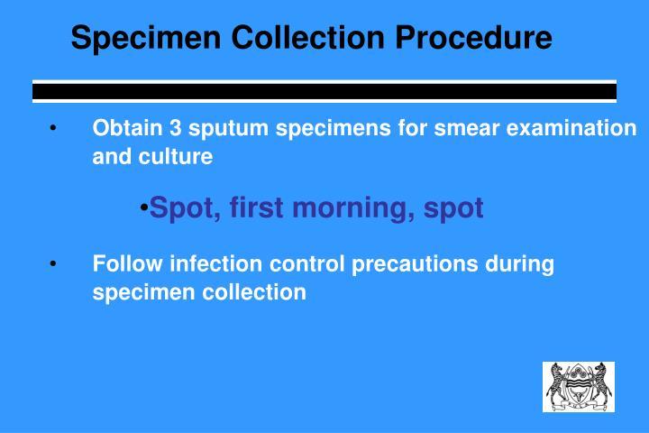 Specimen Collection Procedure