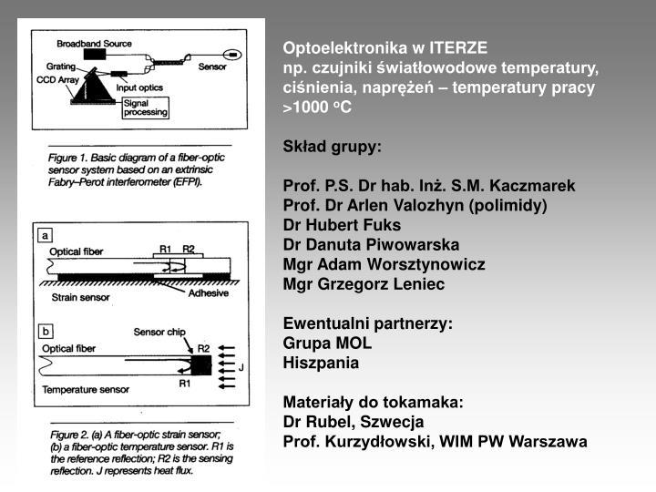 Optoelektronika w ITERZE
