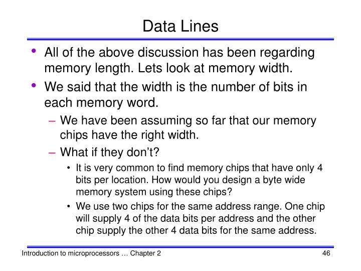 Data Lines