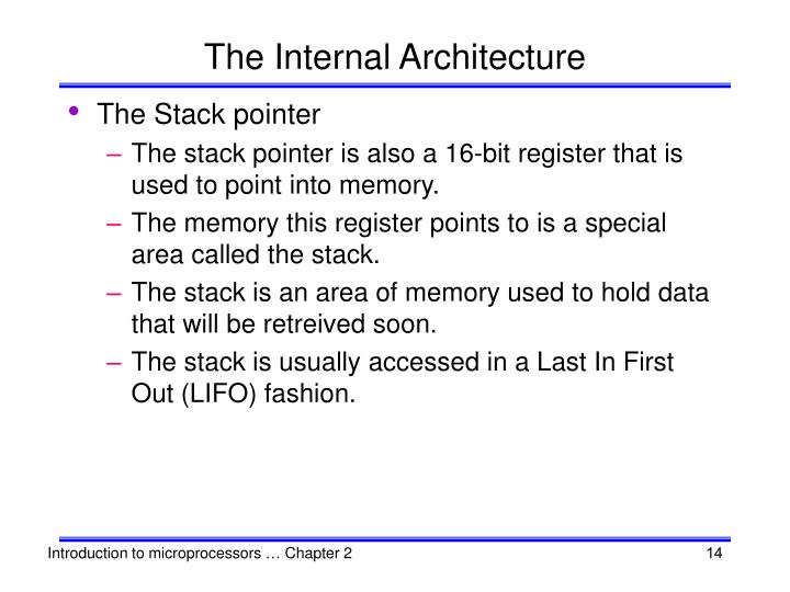 The Internal Architecture