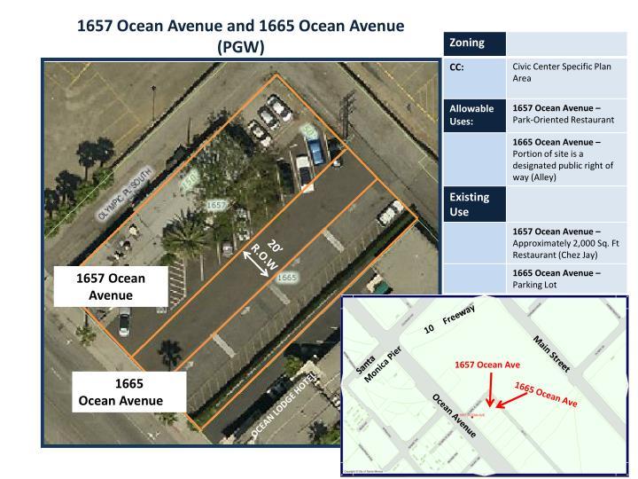 1657 Ocean Avenue and 1665 Ocean Avenue (PGW)