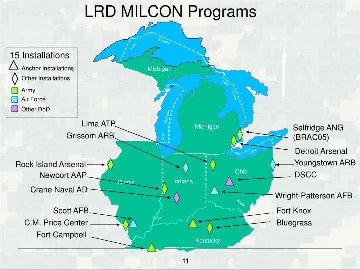 LRD MILCON Programs