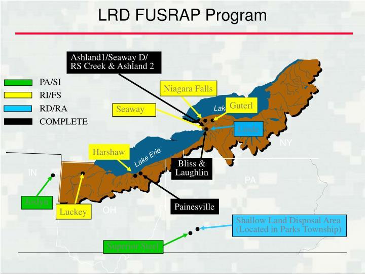 LRD FUSRAP Program