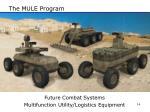 the mule program