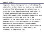 what is phm1