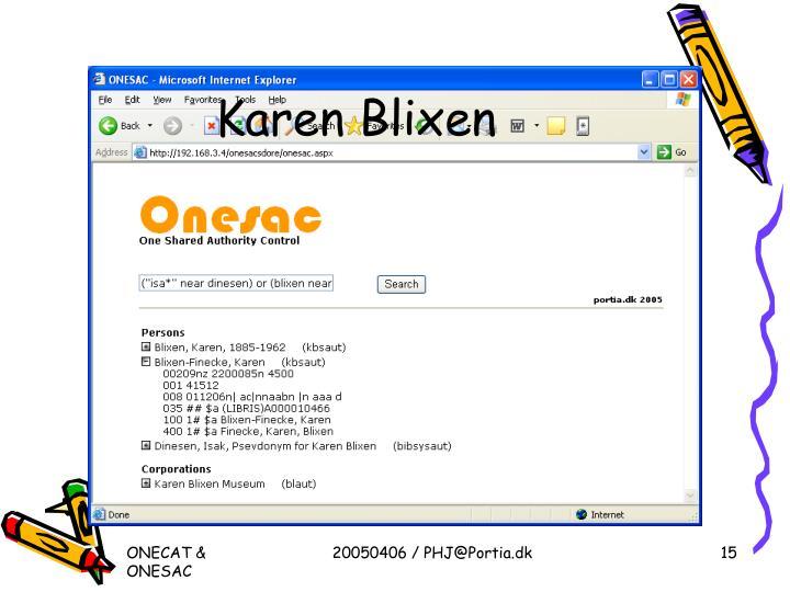 Karen Blixen