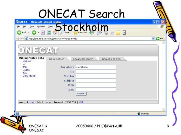 ONECAT Search Stockholm