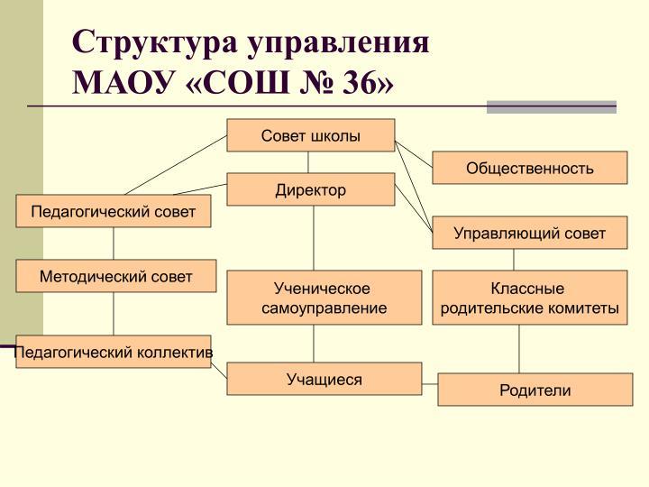 Структура управления