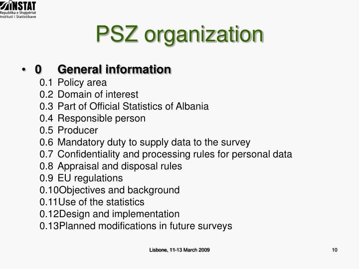 PSZ organization