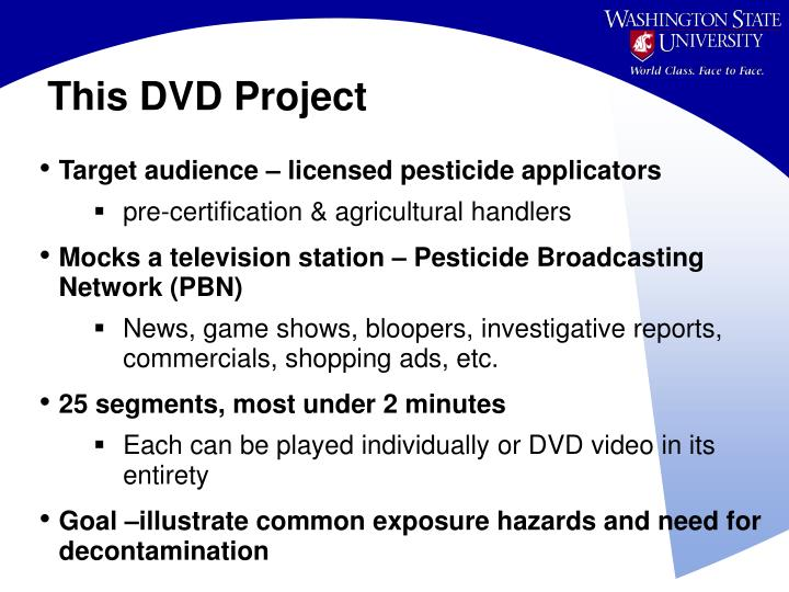 This DVD Project