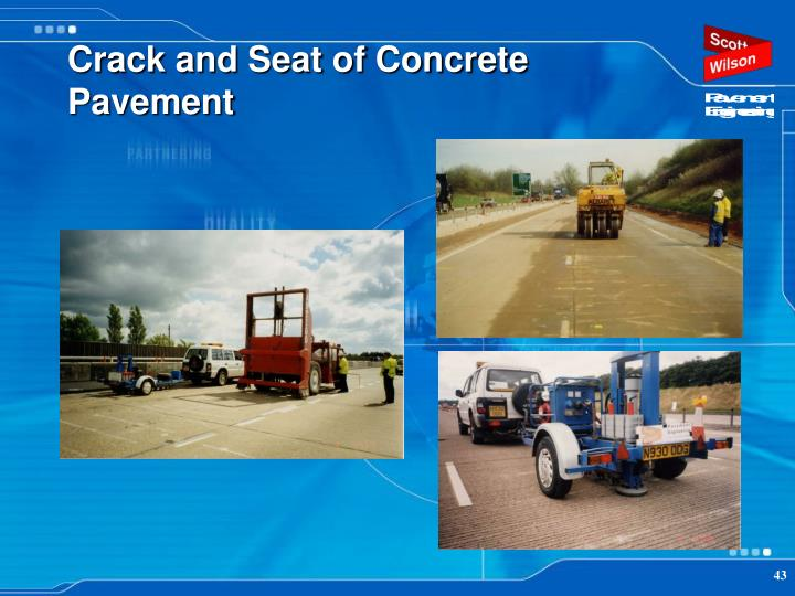 Crack and Seat of Concrete Pavement
