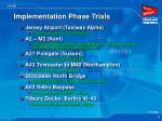 implementation phase trials