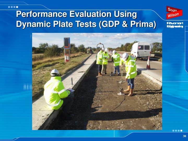 Performance Evaluation Using Dynamic Plate Tests (GDP & Prima)