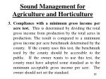 sound management for agriculture and horticulture2