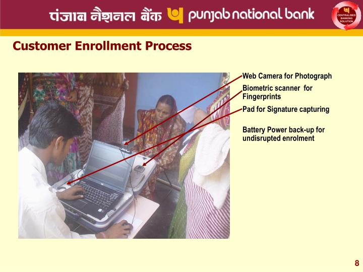 Customer Enrollment Process