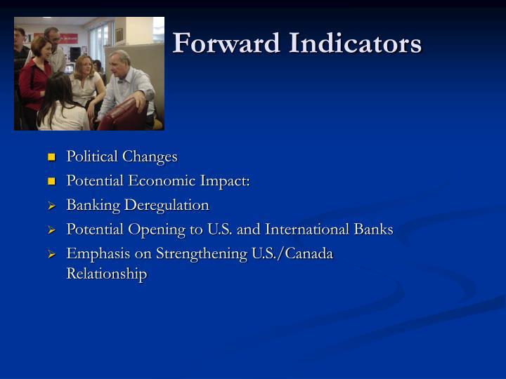Forward Indicators