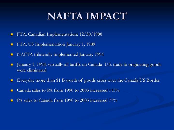 NAFTA IMPACT