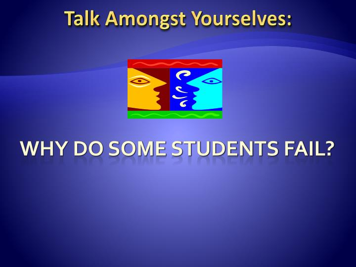 Talk Amongst Yourselves: