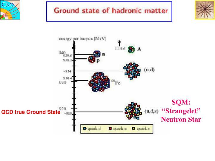 """SQM: """"Strangelet"""" Neutron Star"""