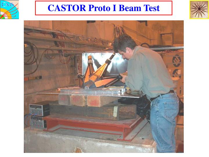 CASTOR Proto I Beam Test