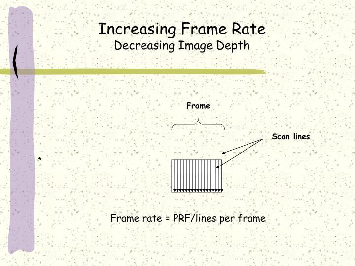 Increasing Frame Rate