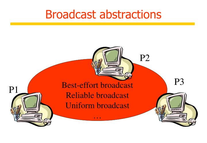 Broadcast abstractions