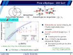 flow elliptique 200 gev