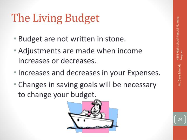 The Living Budget