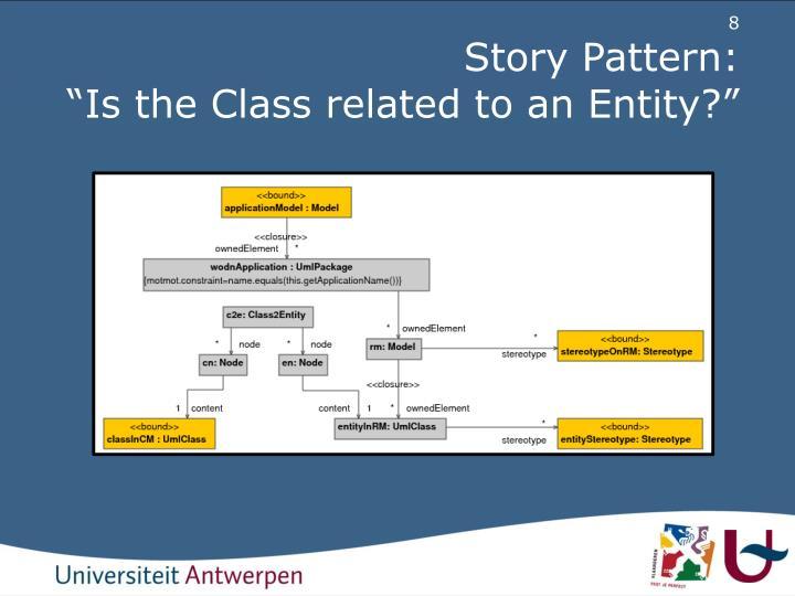 Story Pattern: