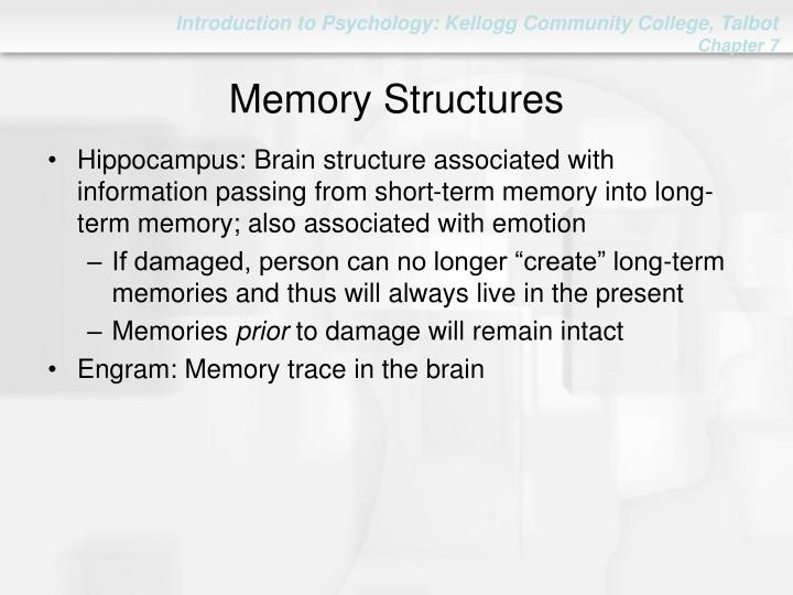 Memory Structures