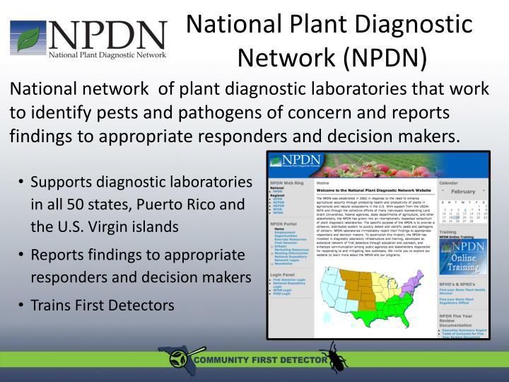 National Plant Diagnostic