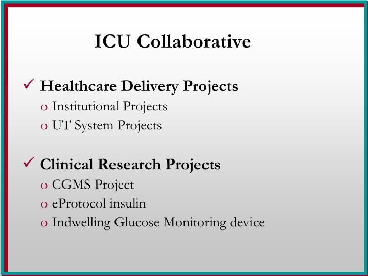 ICU Collaborative
