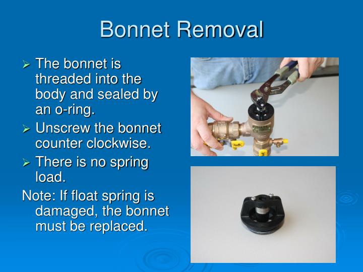 Bonnet Removal