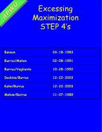 excessing maximization step 4 s