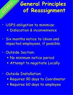 general principles of reassignment
