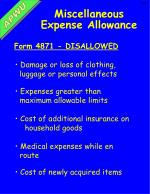 miscellaneous expense allowance2