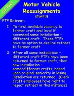 motor vehicle reassignments cont d