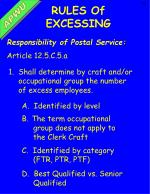 responsibility of postal service