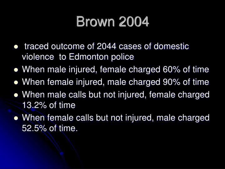 Brown 2004