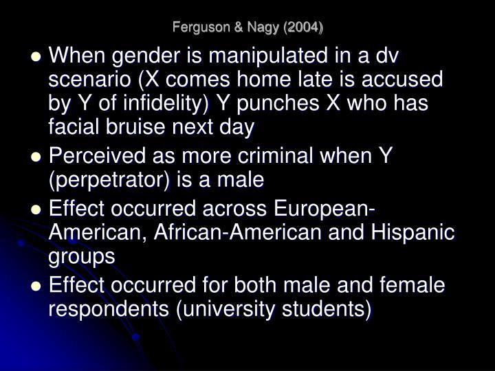 Ferguson & Nagy (2004)