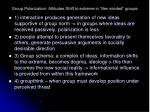 group polarization attitudes shift to extreme in like minded groups