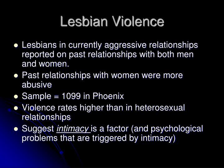 Lesbian Violence