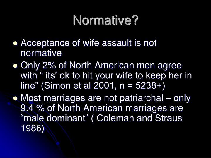 Normative?